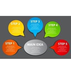 Business Presentation Diagram vector