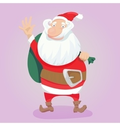 Cute Santa Clause hand drawn vector