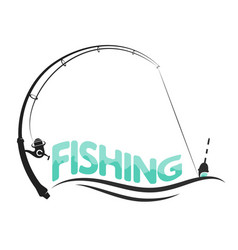 fishing sport design vector image