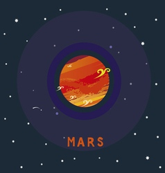 MARS space view vector
