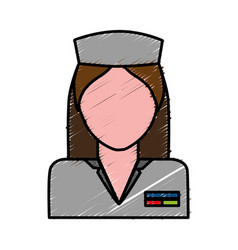 medical nurse icon vector image