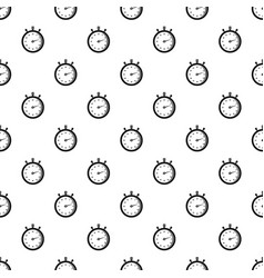 Stopwatch pattern seamless vector