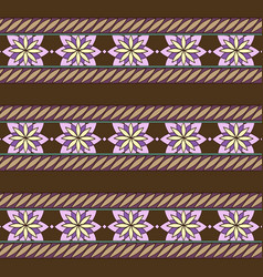 seamless ornamental pattern with stylized vector image