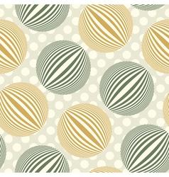 bubbles polka dot vector image vector image