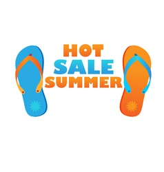 hot sale summer vector image