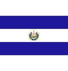 Salvador flag image vector