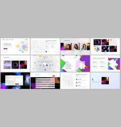 Templates for website design minimal vector