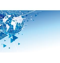 word digital design vector image