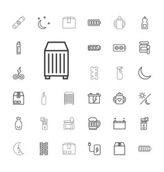 33 full icons vector