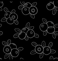 beautiful seamless pattern cartoon black and white vector image
