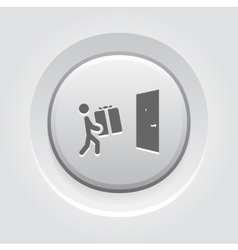 Door Delivery Icon vector