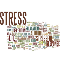 Great tips to handle stress text background word vector