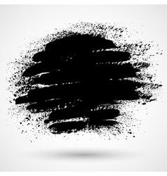 Grunge splash banner vector image