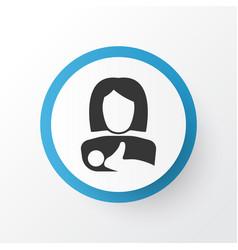 kid icon symbol premium quality isolated protect vector image