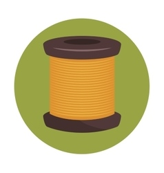 sewing thread isolated icon design vector image
