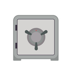 strongbox safe combination lock vector image