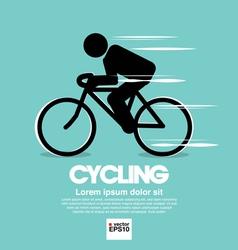 Cycling Graphic Symbol vector image