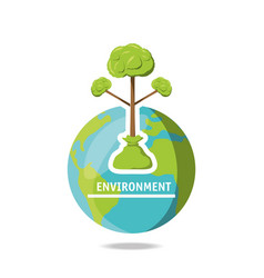 environment concept design vector image