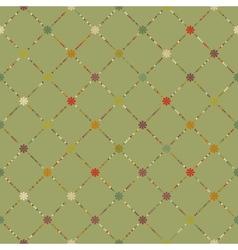Retro dot pattern background EPS 8 vector image