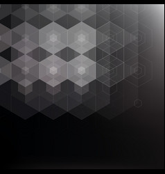 Abstract background with geometric pattern vector