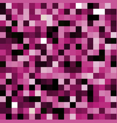 Abstract pink pixel background vector