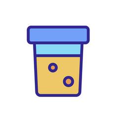 diabetes icon isolated contour symbol vector image