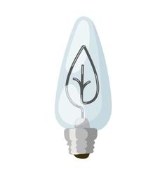 Eco energy concept icon vector image