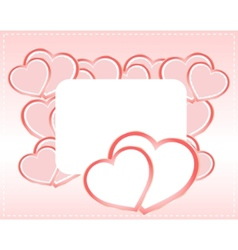 greeting scrapbook vector image