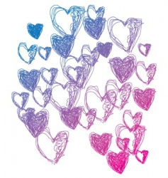 love doodle vector image
