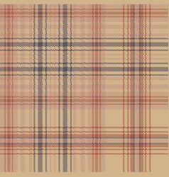 Old style check plaid pixel seamless pattern vector