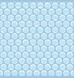 seamless pattern with plastic bubbles vector image