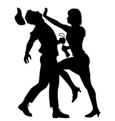 self defense woman vector image