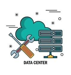 Support cloud data center isolated vector