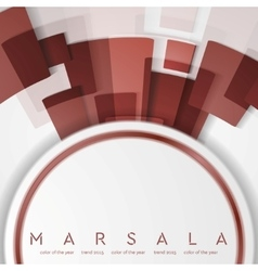 Trendy color marsala 2015 Technology abstract vector