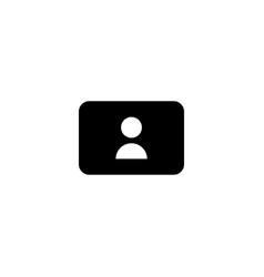 web registration icon sign up symbol vector image