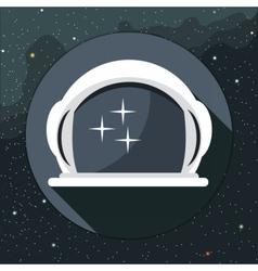 Digital with astronaut helmet icon vector image vector image