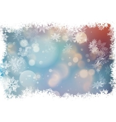 Bokeh colorful background EPS 10 vector image