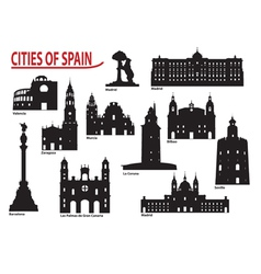 City of Spain vector image vector image