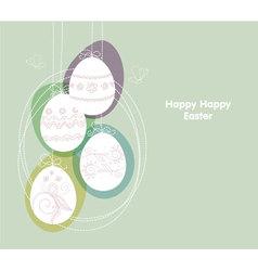 eggs backgr vector image vector image
