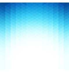 Abstract blue geometric background Template vector image vector image