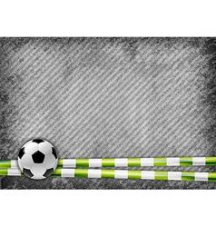 football texture green vector image vector image