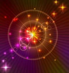 Abstract cosmos background vector image