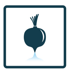 beetroot icon vector image
