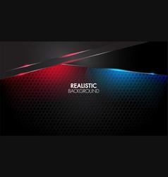 black abstract mat geometric background elegant vector image