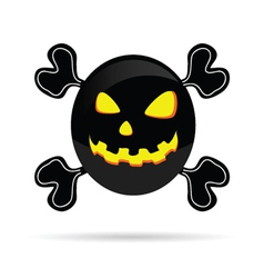 sweet and cute pumpkin vector image