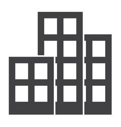 architecture icon vector image