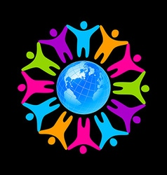 people unity vector image vector image