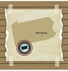 Pennsylvania vector
