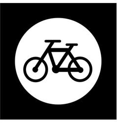 Bicycle icon design vector