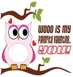 Favorite valentine vector